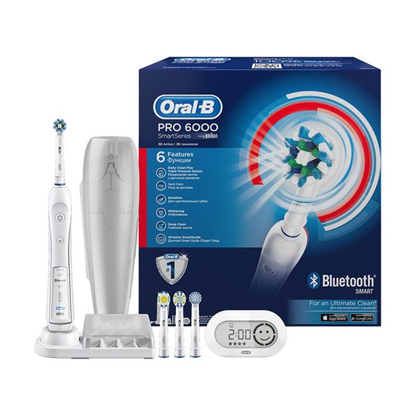 Oral-B White 6000 «Cross Action Smart Series»